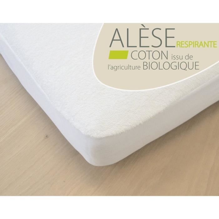al se b b coton bio pour lit 70x140 cm blanc achat. Black Bedroom Furniture Sets. Home Design Ideas