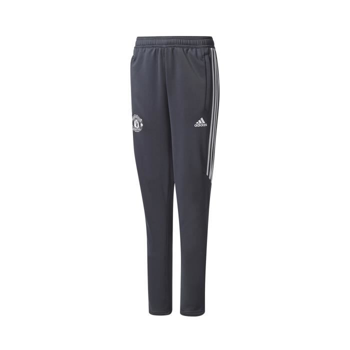 Pantalon Entraînement adidas Manchester United Gris Junior