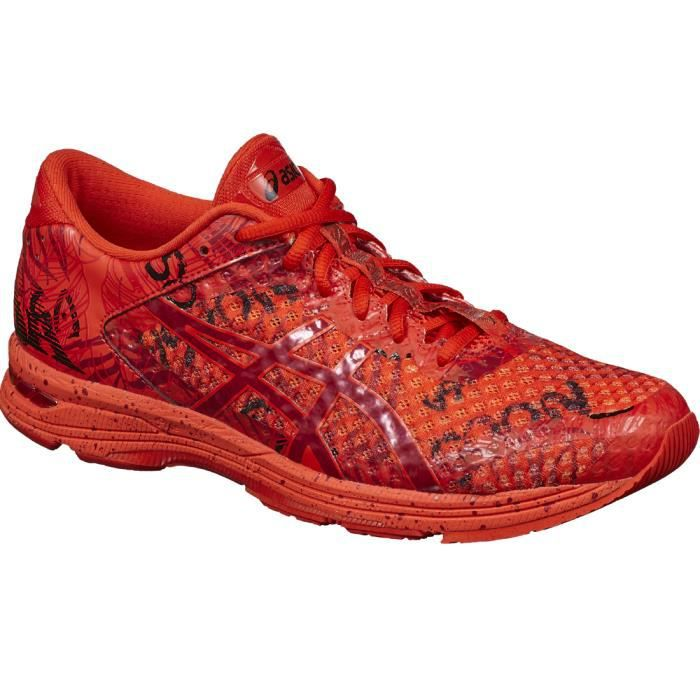 chaussure asics homme rouge