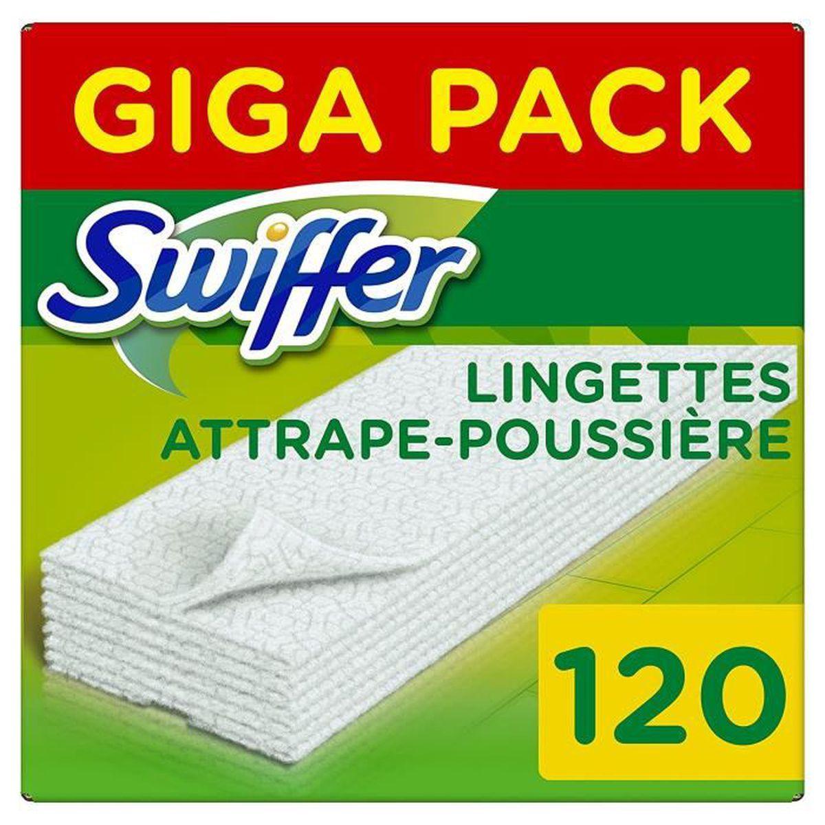 Swiffer Recharges Lingettes Sèches Pour Balai Attrape