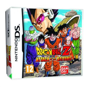 JEU DS - DSI DRAGON BALL Z ATTACK OF THE SAIYANS / JEU NINTENDO