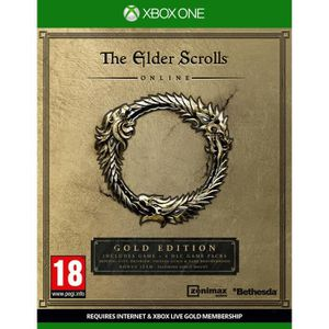 JEUX XBOX ONE The Elder Scrolls Online Edition Gold Jeu Xbox One