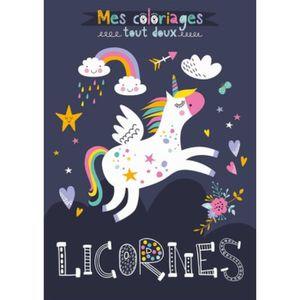 Coloriage Licorne