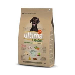 ULTIMA Nature Adulte Medium-Maxi Agneau -Maxi-Poulet 3kg