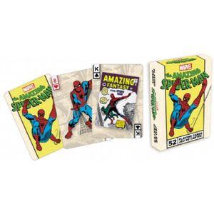 CARTES DE JEU Aquarius 52 Cartes De Jeu Spiderman CH9R7