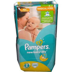 COUCHE Pampers New Baby gr 2 mini 66 VP Minus
