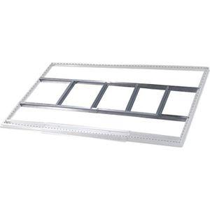 ABRI JARDIN - CHALET Structure métallique Gardiun pour Abri de Jardin d
