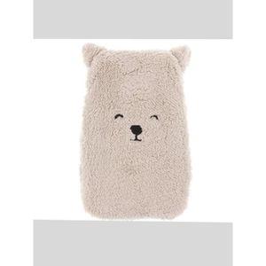 ours beige Peluche animal mignon 2 litres bouteille deau chaude et couvercle