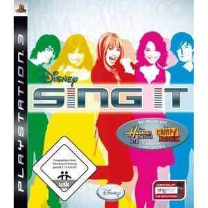 JEU PS3 DISNEY SING IT [IMPORT ALLEMAND] [JEU PS3]