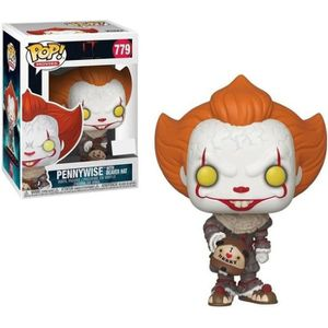 FIGURINE - PERSONNAGE CA -  2 POP! Movies Vinyl figurine Pennywise 779 (