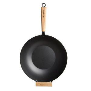 WOK Kitchen Craft Pure Oriental Wok avec poignée en…