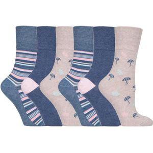 12 Paires Pour Hommes Gentle Grip ® Coton Non Élastique Chaussettes UK 6-11 Nid d/'Abeille Femme Noir