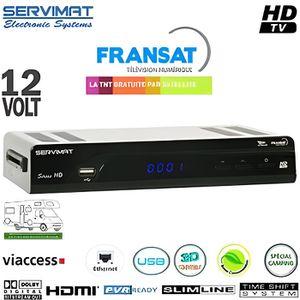 RÉCEPTEUR - DÉCODEUR   SERVIMAT SIRIUS HD : Récepteur TNT numérique Frans