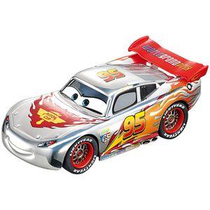 VÉHICULE CIRCUIT CARS Carrera Go !!! Silver Lightning Mc Queen