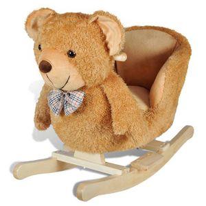 JOUET À BASCULE Animal de ours Teddy à bascule