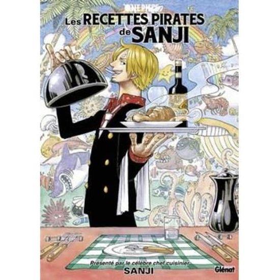 Livre One Piece Les Recettes Pirates De Sanji