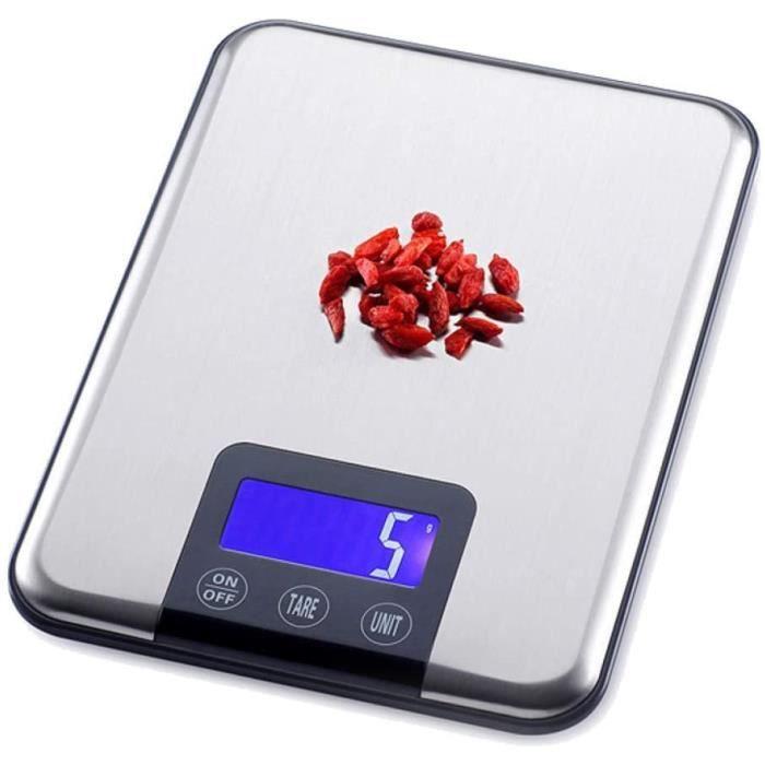 Pèse-personne mécaniques NMDCDH 15Kg - 1G Numérique Balances De Cuisine en Acier Inoxydable Multi-Fonction Alimentaire R 645385