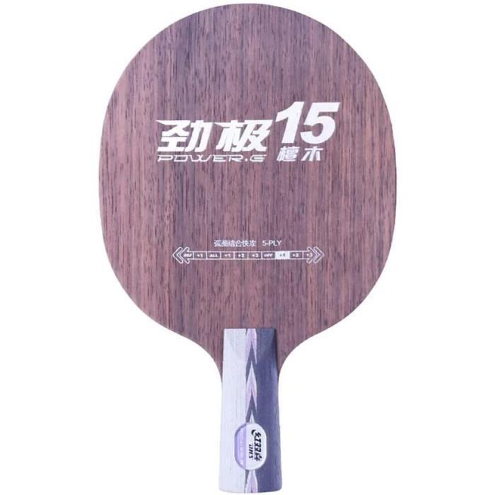 DHS Pagaie Professionnelle De Ping-Pong, Raquettes Pro Premium, pour Jouer en Tournoi, avec Sac De Rangement, pour Interm&eacu586