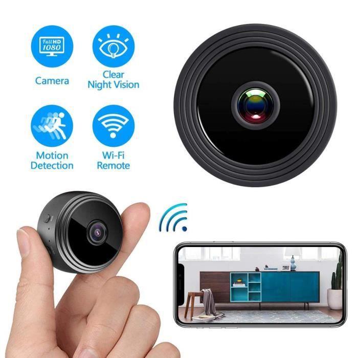 BABY PHONE - ECOUTE BEBE,HD 1080P Mini caméra WIFI caméra avec Vision nocturne et détection de mouvement vue à - Type camera only