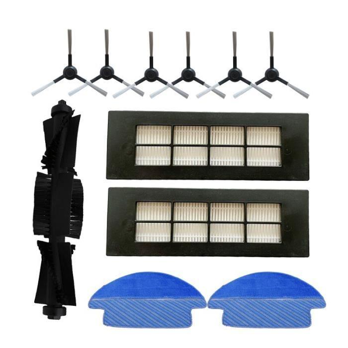 Accessoires pour aspirateur Proscenic LDS M6 R2, brosse latérale avec filtre HEPA et balai latéral~kit-3 GF2412