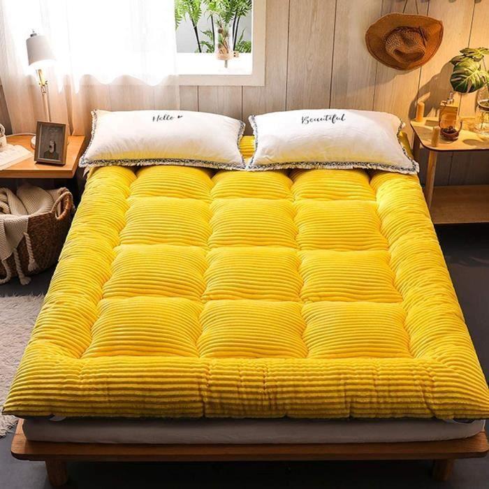 MATELAS Matelas futon japonais, tapis de sol Tatami Matelas de camping portable Tapis de couchage pour enfants Tapis de sol enro433