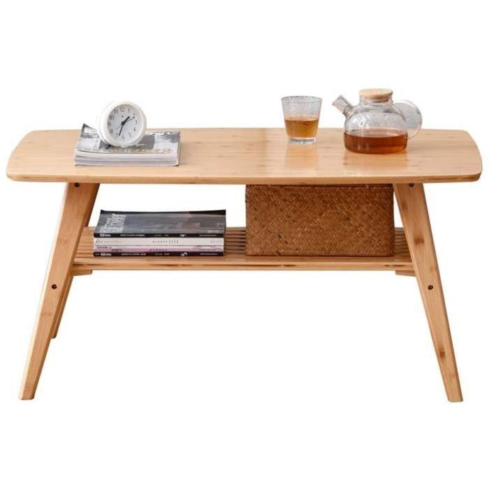 TABLE BASSE SALON DJPP Bureau, Table Basse de Style Japonais, Table À Thé Pliable Pour Petit Appartement Kungfu, Ta439
