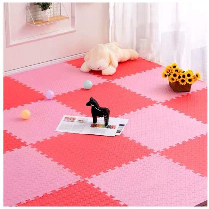 Puzzles de sol LFLFZH Tapis Mousse Enfant Tapis De Sol en Polyéthylène Imbriqué Intérieur Salon Extérieur Camping Gym, 1 320352