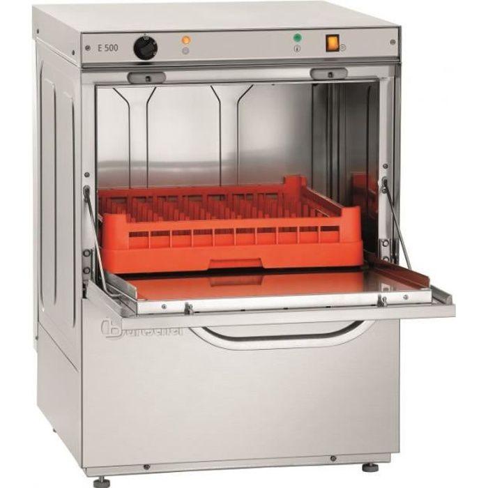 Lave vaisselle professionnel -panier 500x500 mm