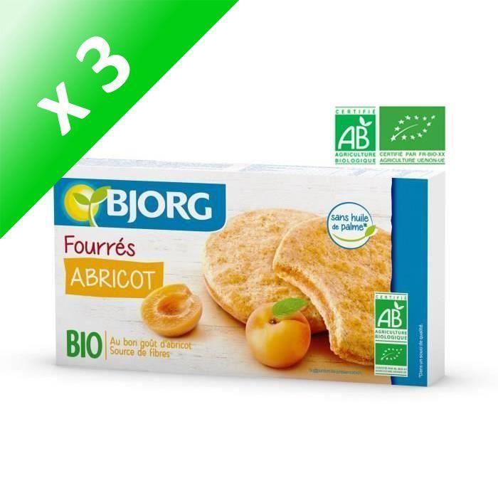 [LOT DE 3] BJORG Fourres Abricot Bio 175g