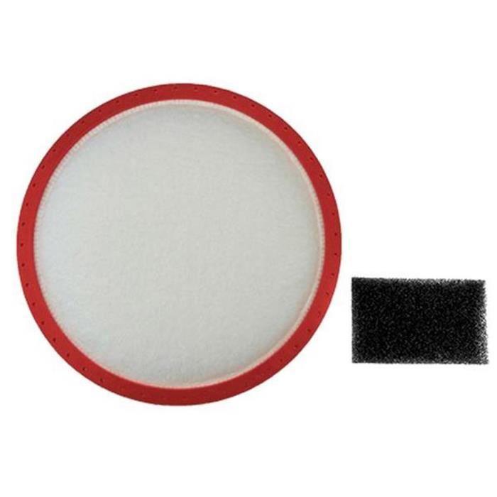 Lot de 2 filtres (261358-4102) - Aspirateur - DIRT DEVIL (16477)