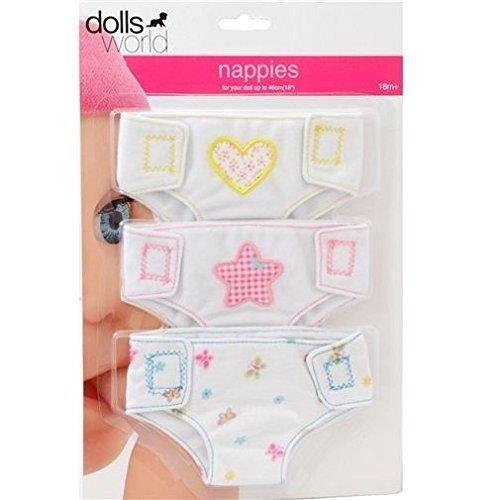 Dolls World Couche en Tissu pour poupées - 8677