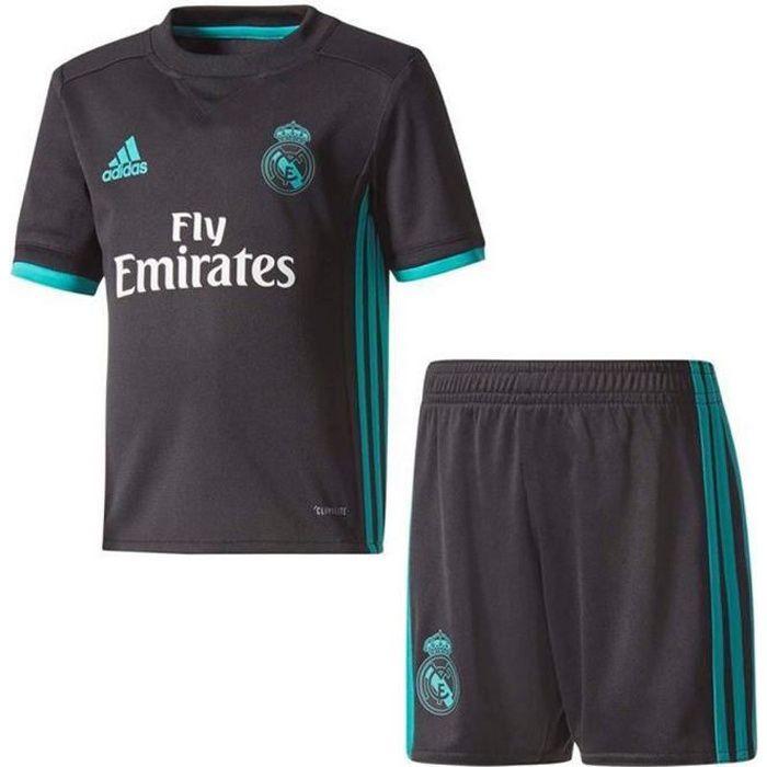 Nouveau Mini-Kit Officiel Enfant Adidas Réal de Madrid Away Saison 2017-2018