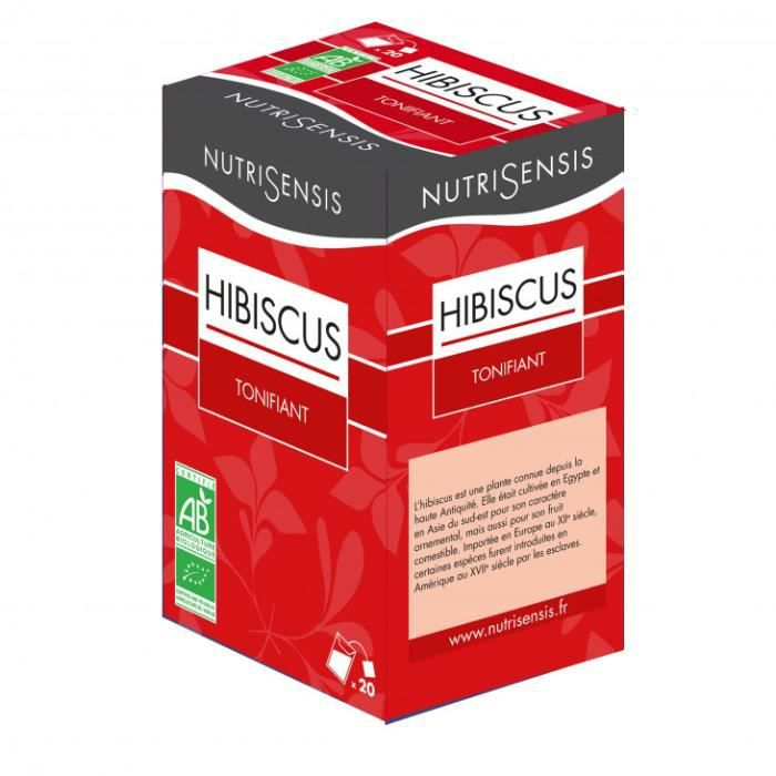 Infusions fleurs hibiscus (x20) 36gr