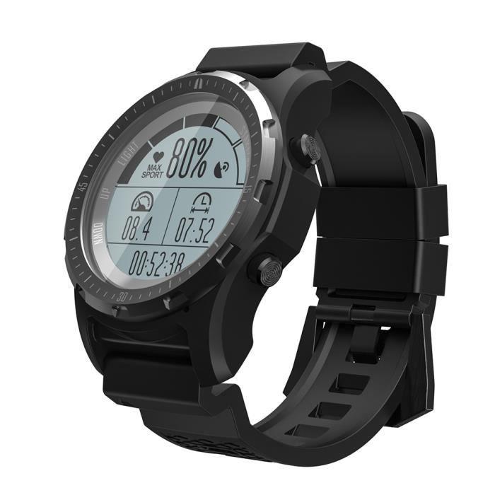 S966 Bluetooth GPS Sports de plein air Moniteur de fréquence cardiaque Montre intelligente Montre de sport