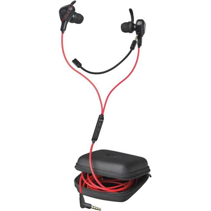Trust Gaming GXT 408 Cobra Écouteur In-ear, Casque Gaming avec Microphone, in-Ear, pour Mobile, Nintendo Switch, PC, PS4 2302
