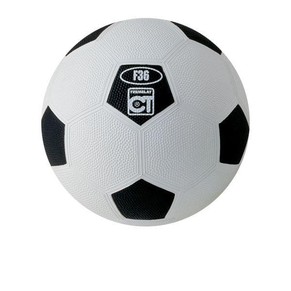 Ballon football scolaire N° 4 Blanc/Noir