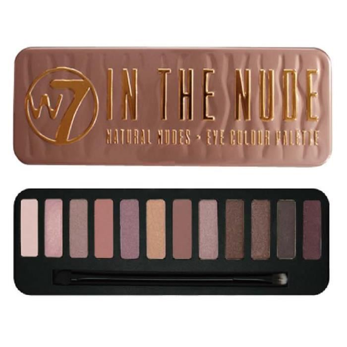 Palette 12 couleurs In the Nude W7