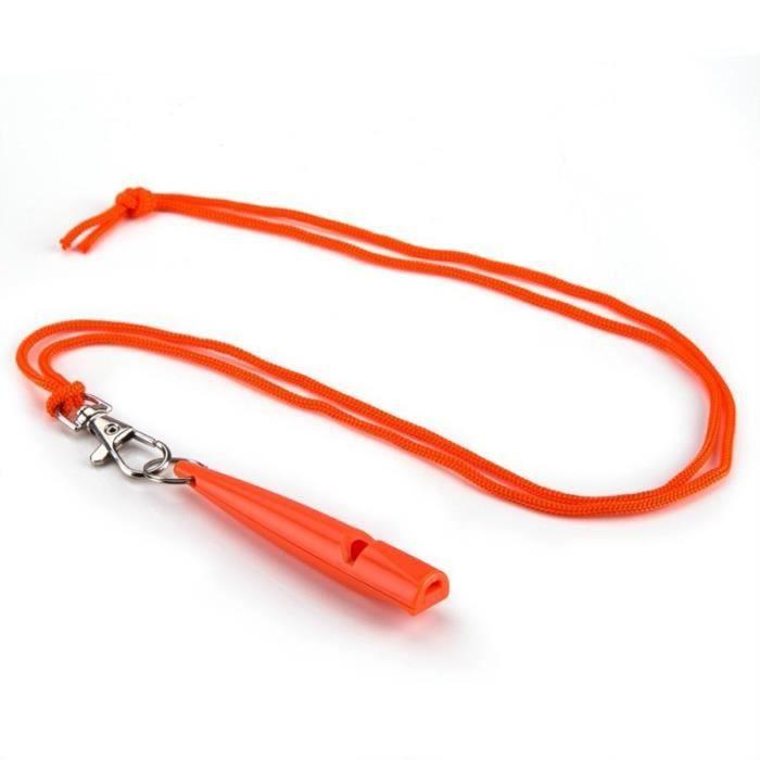 Sifflet de dressage ultrasonique pour chien -orange