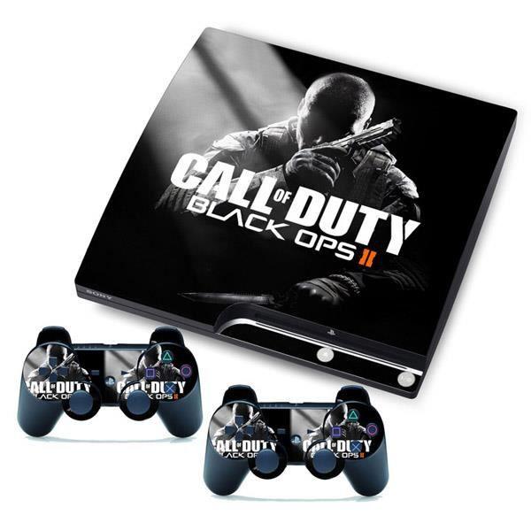 Nouveau Black Ops Ii Pour Playstation 3 Ps3 Slim 2 Skins Controller Autocollants Personnalisés Skins Prix Pas Cher Cdiscount
