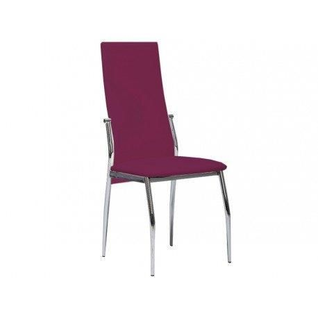 Lot de 4 chaise prune achat vente chaise violet for Chaise prune