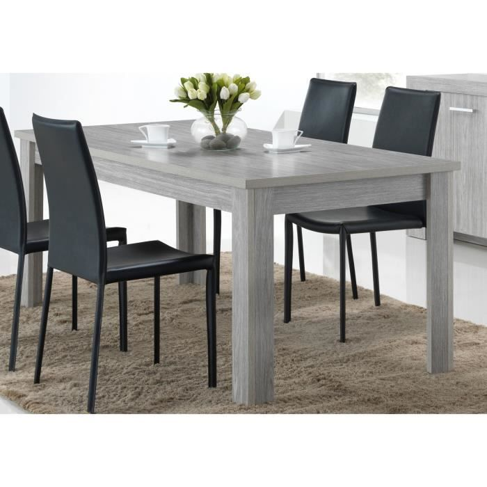 table a manger extensible gris achat vente table a manger extensible gris pas cher les. Black Bedroom Furniture Sets. Home Design Ideas