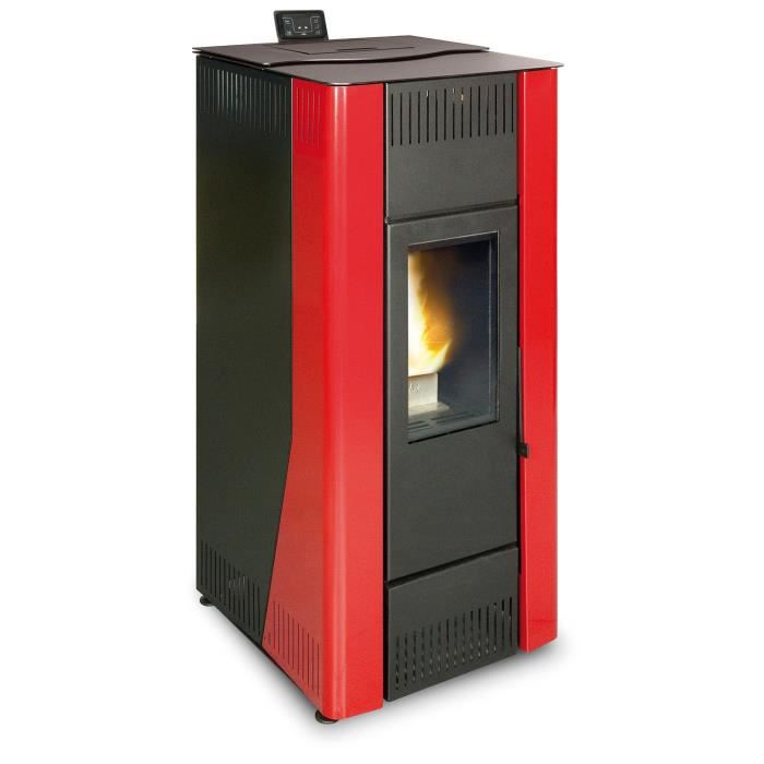 ferlux po le granul s hydraulique velika 12kw hydro rouge achat vente po le insert. Black Bedroom Furniture Sets. Home Design Ideas
