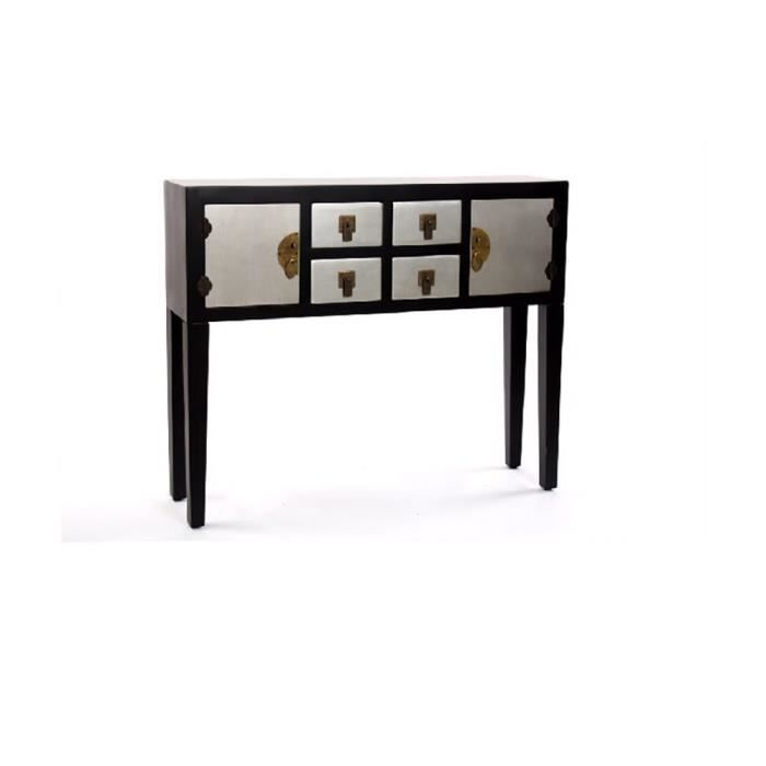 cabinet japonais 4 tiroirs 94x24x78 achat vente casier pour meuble cdiscount. Black Bedroom Furniture Sets. Home Design Ideas