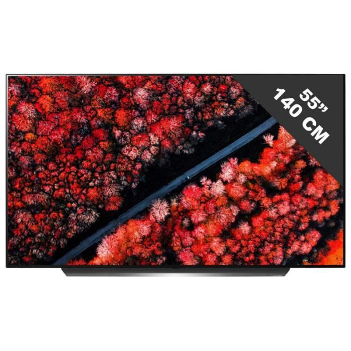 """Téléviseur LED LG 55C9 TV Oled 4K UHD 55"""" (139cm) - HDR Dolby Vis"""