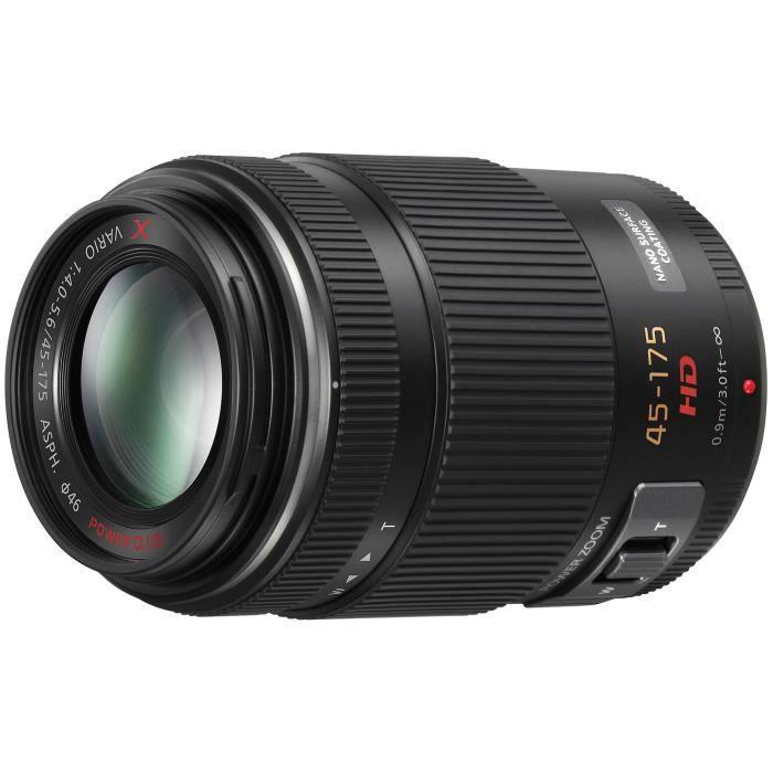 APPAREIL PHOTO RÉFLEX Panasonic LUMIX G X VARIO PZ 45-175mm F4.0-5.6 ASP