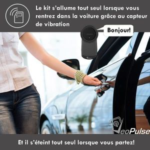 kit main libre voiture parrot achat vente kit main libre voiture parrot pas cher cdiscount. Black Bedroom Furniture Sets. Home Design Ideas