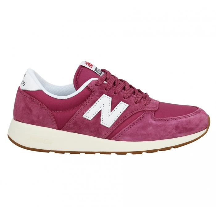 Baskets NEW BALANCE WRL 420 velours toile Femme-36-Rose