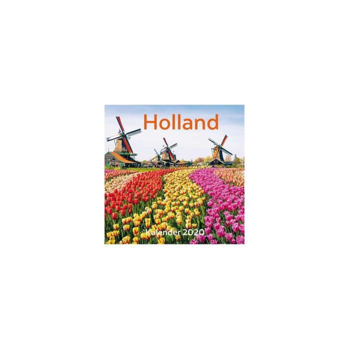 CALENDRIER 2020 HOLLANDE   Achat / Vente calendrier   ephemeride