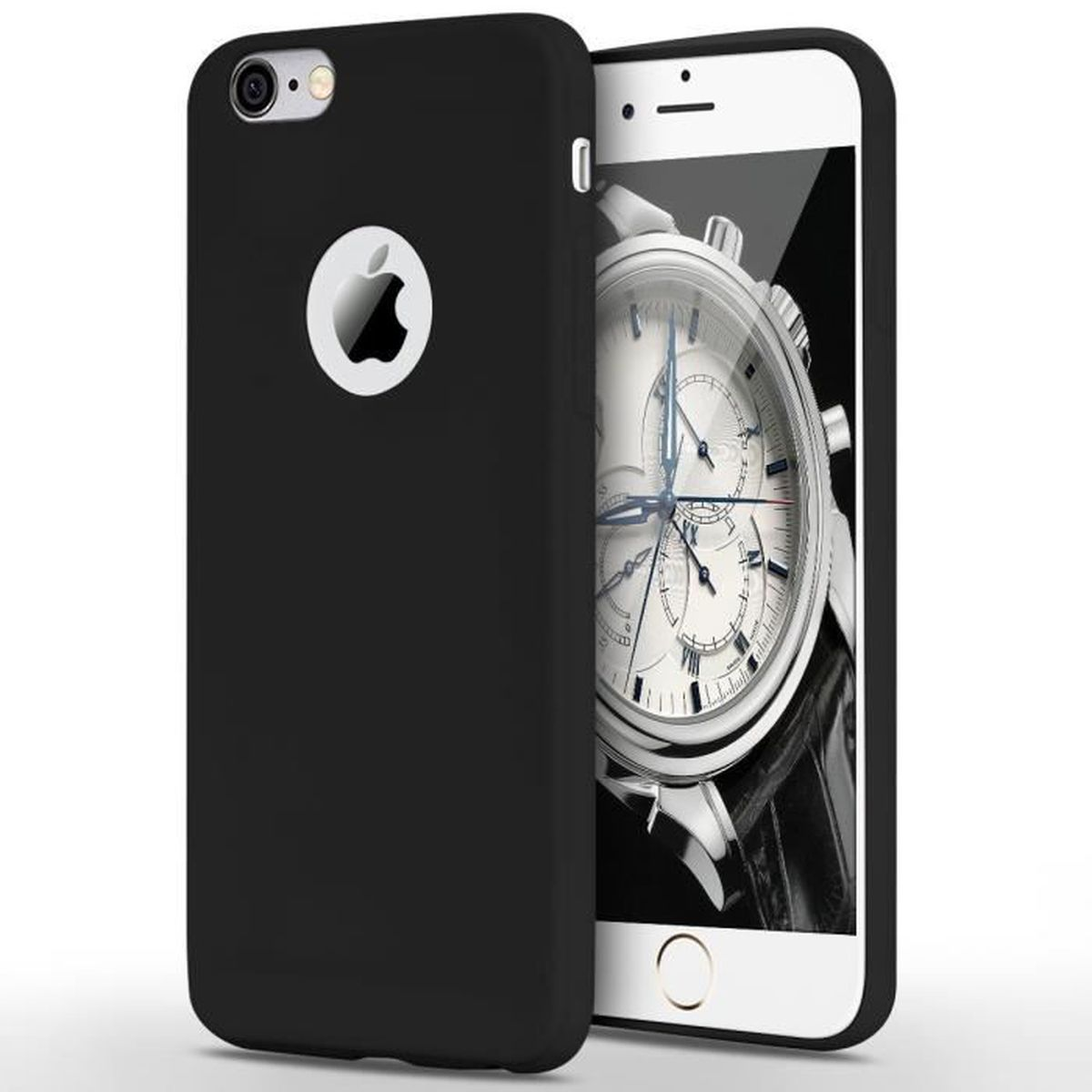 coque noir mate iphone 6