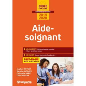 LIVRE MÉDECINE Aide-soignant. Edition 2019-2020